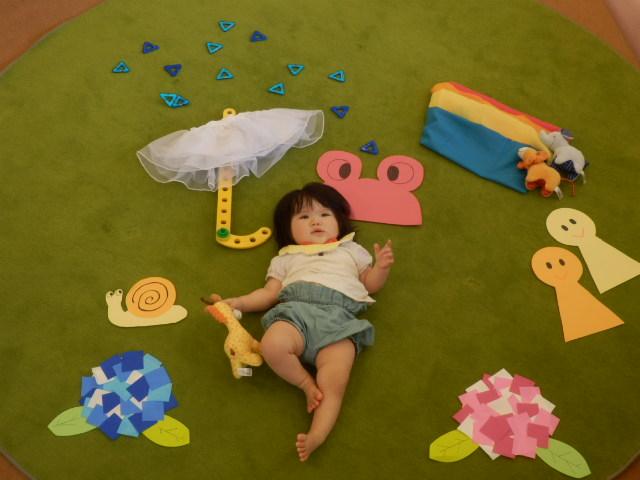 【7/6(木)開催】赤ちゃんの日 写真アート