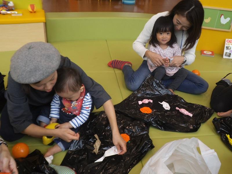 赤ちゃんイベント 『ハロウィンクラフト』