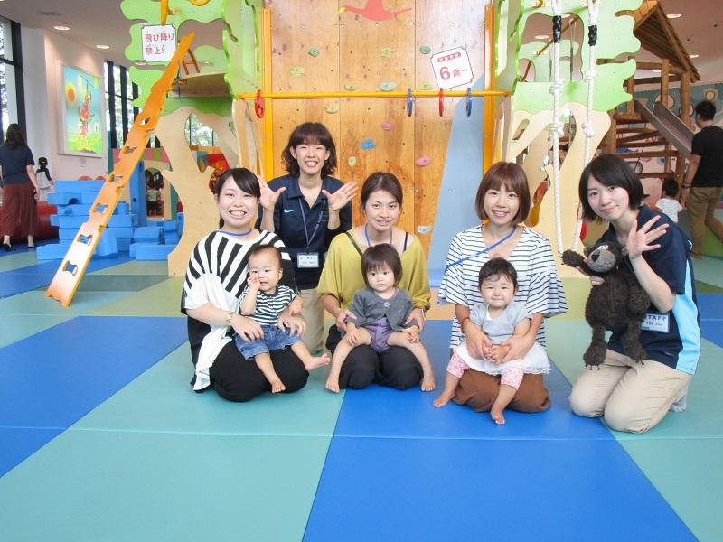 赤ちゃんイベント『タオルあそび』