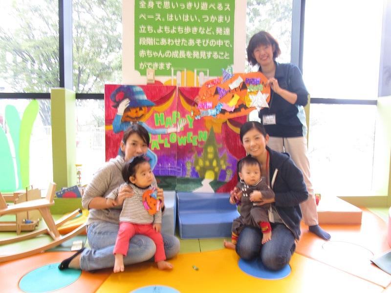 赤ちゃんイベント『ハロウィンクラフト』