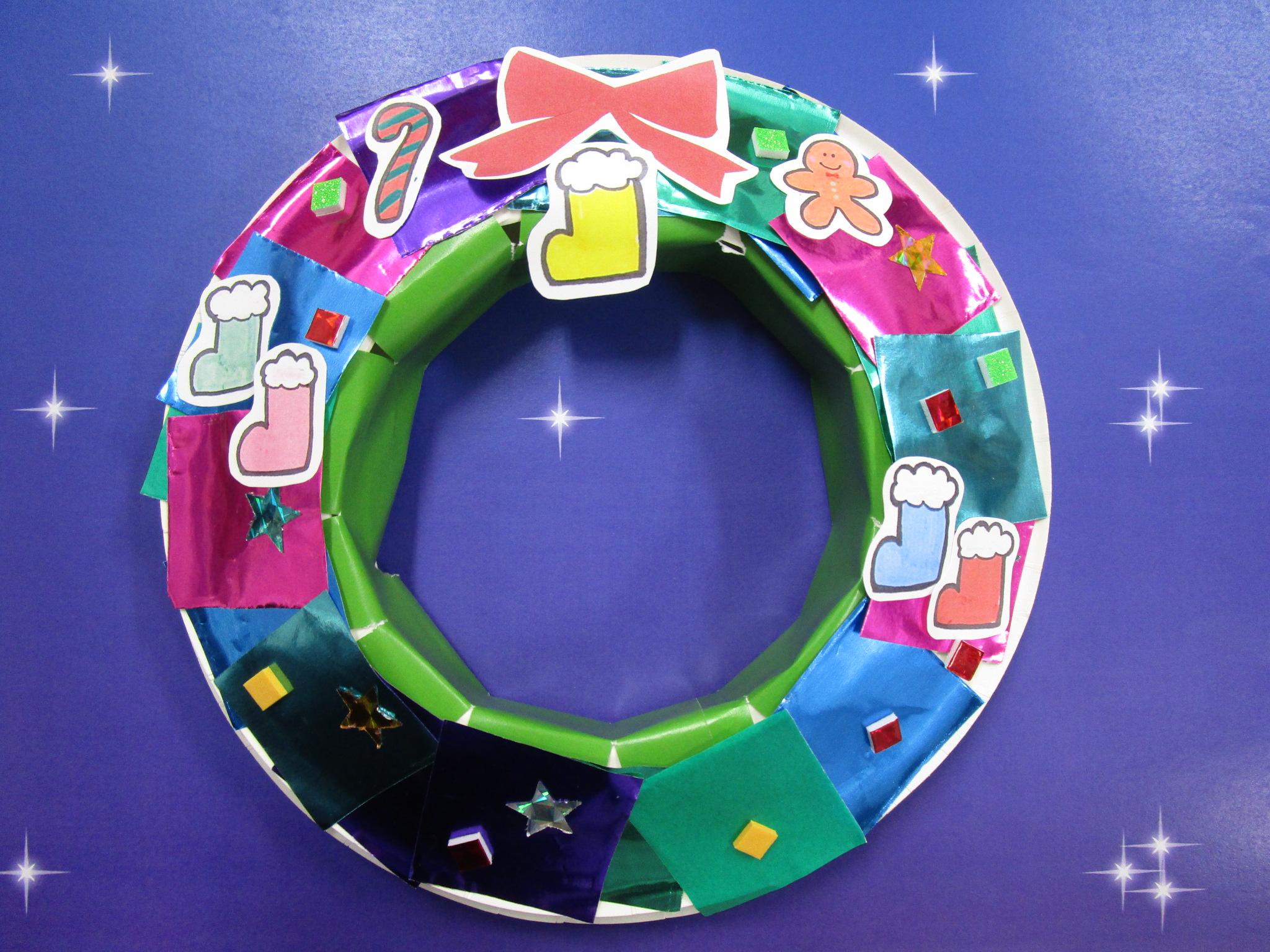 赤ちゃんイベント『クリスマスクラフト』