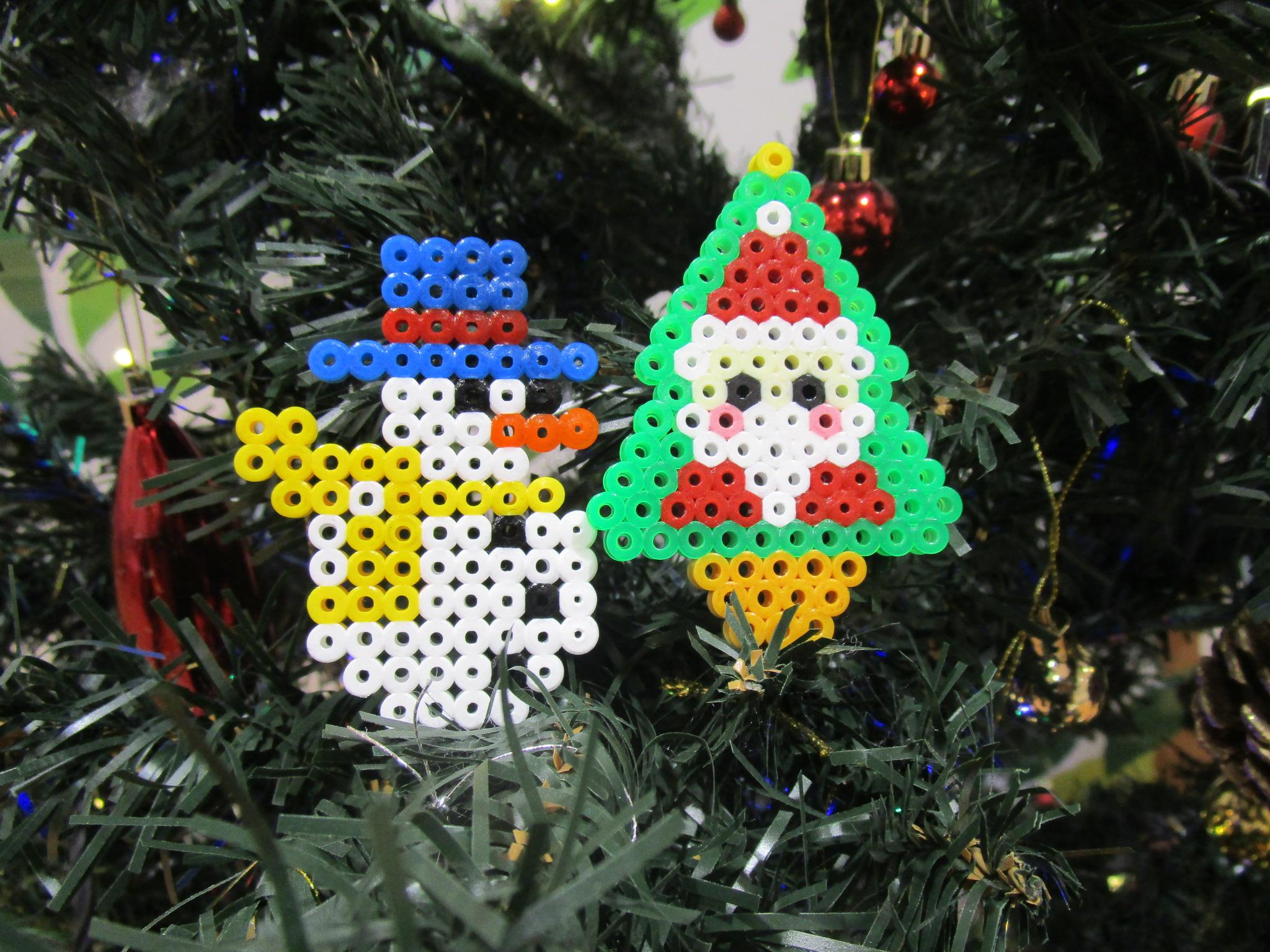 クリスマスビーズバー