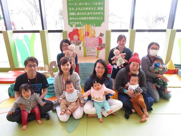 赤ちゃんイベント『赤ちゃんエクササイズ』