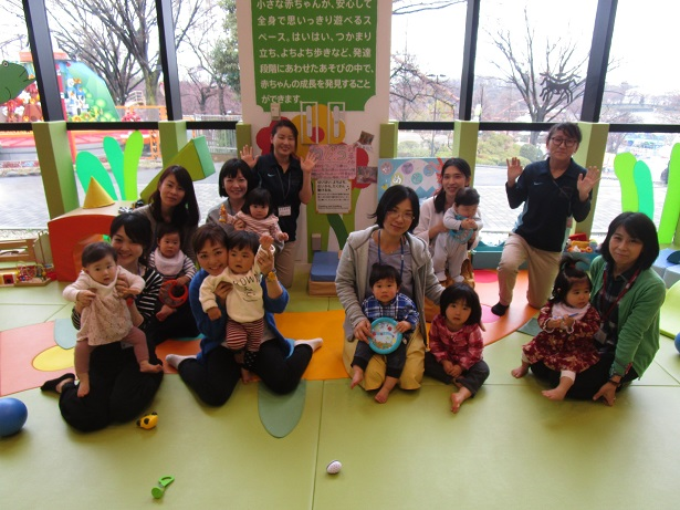 赤ちゃんイベント『1歳のお誕生日会』