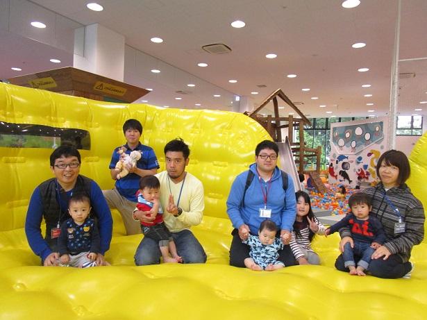 赤ちゃんイベント『トランポリンであそぼう!』