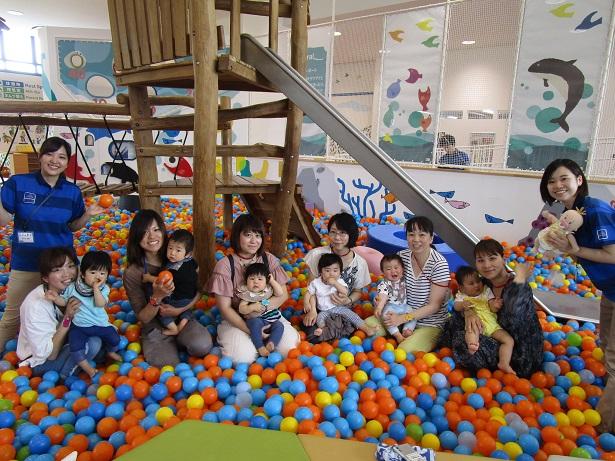 赤ちゃんイベント『ボールであそぼう!』