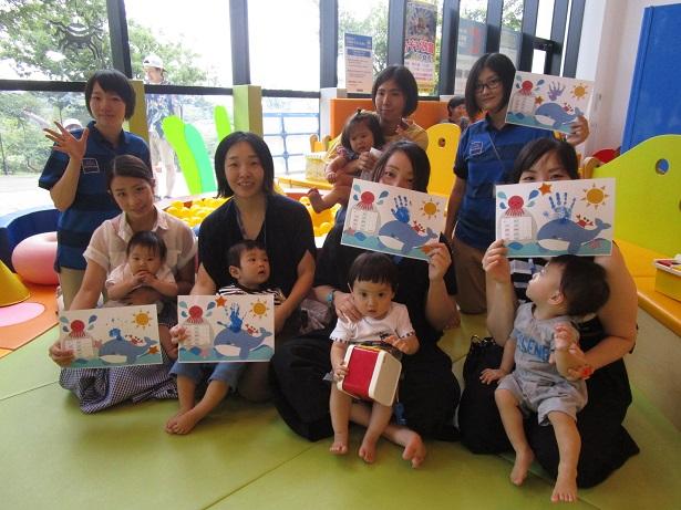 赤ちゃんイベント『カレンダーをつくろう!』