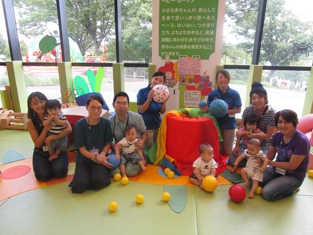 赤ちゃんイベント『ボールであそぼう』