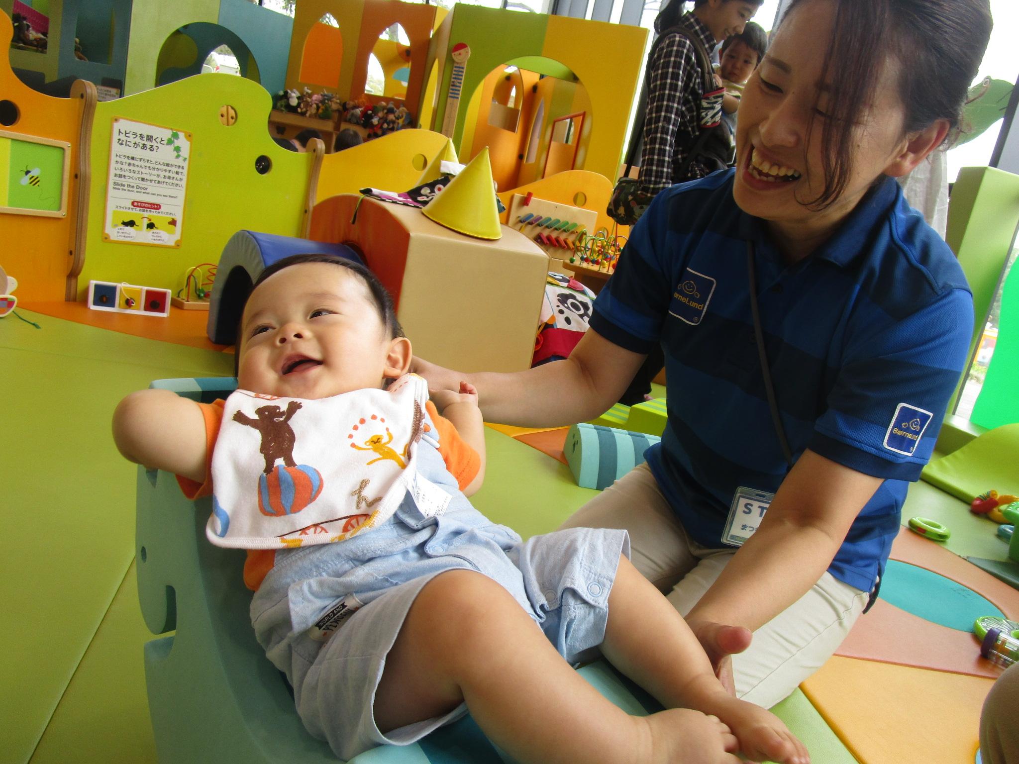 赤ちゃんイベント 『ボブルスであそぼう』