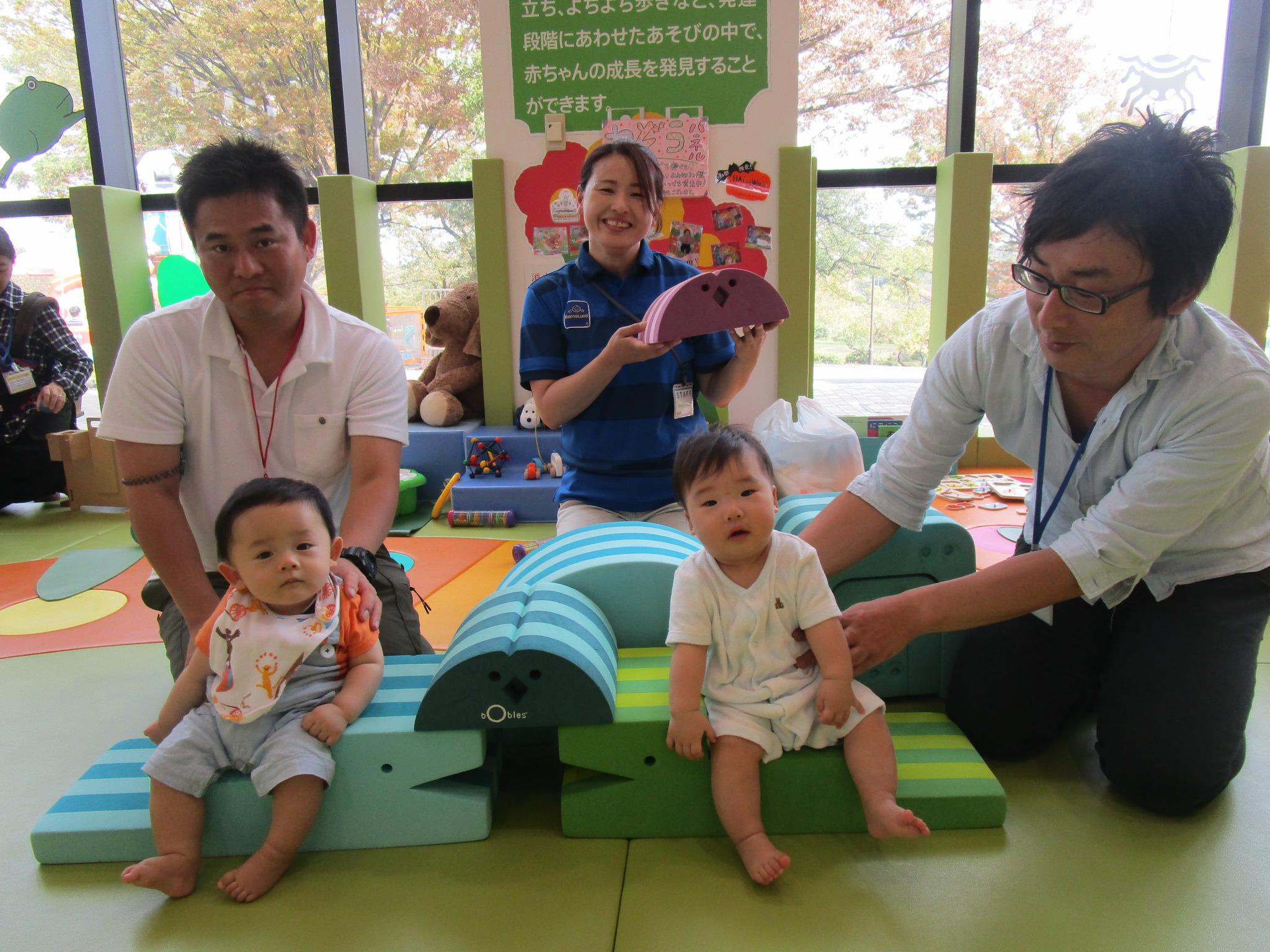 赤ちゃんイベント『ボブルスであそぼう!』