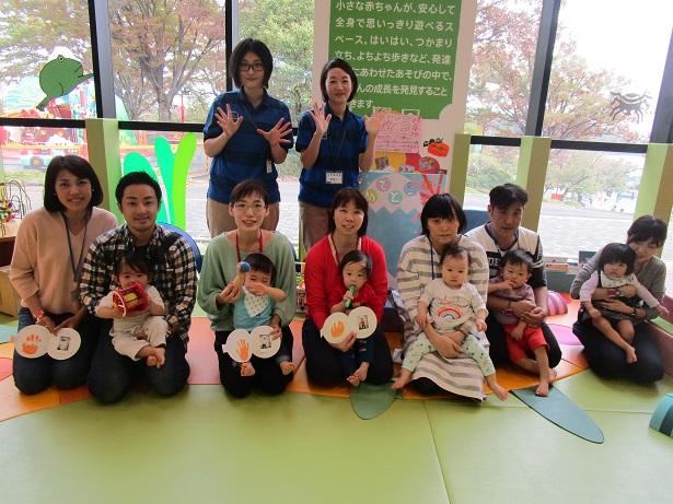 赤ちゃんイベント『1歳のおたんじょうび会』