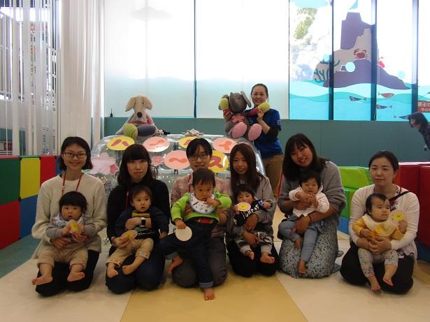 赤ちゃんイベント『ハイハイレース』/『1歳のお誕生日会』