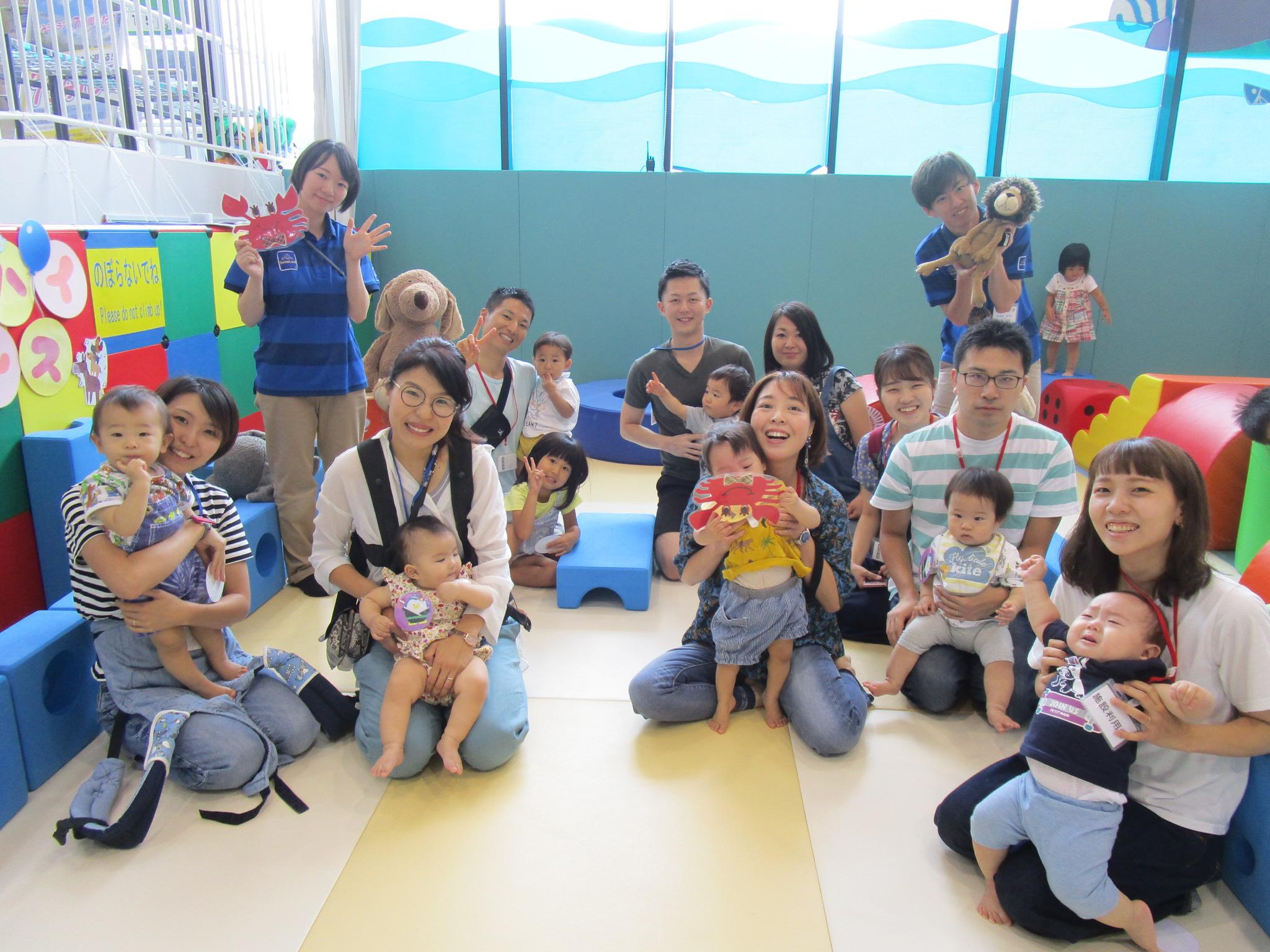赤ちゃんイベント『ハイハイレース』/『カレンダーをつくろう!』