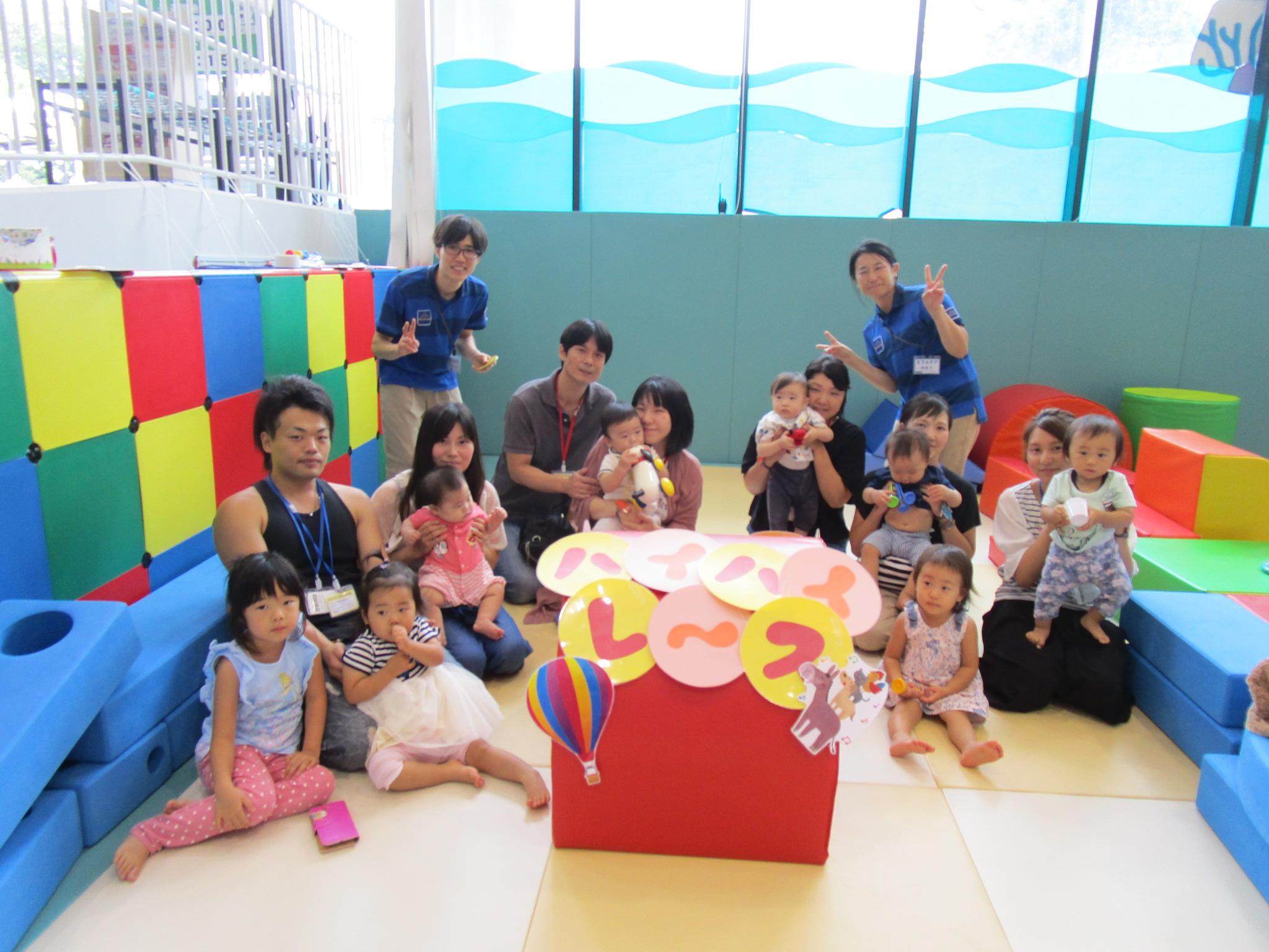 赤ちゃんイベント『ハイハイレース』/『1歳のお誕生日会』/『楽器で演奏会♪』