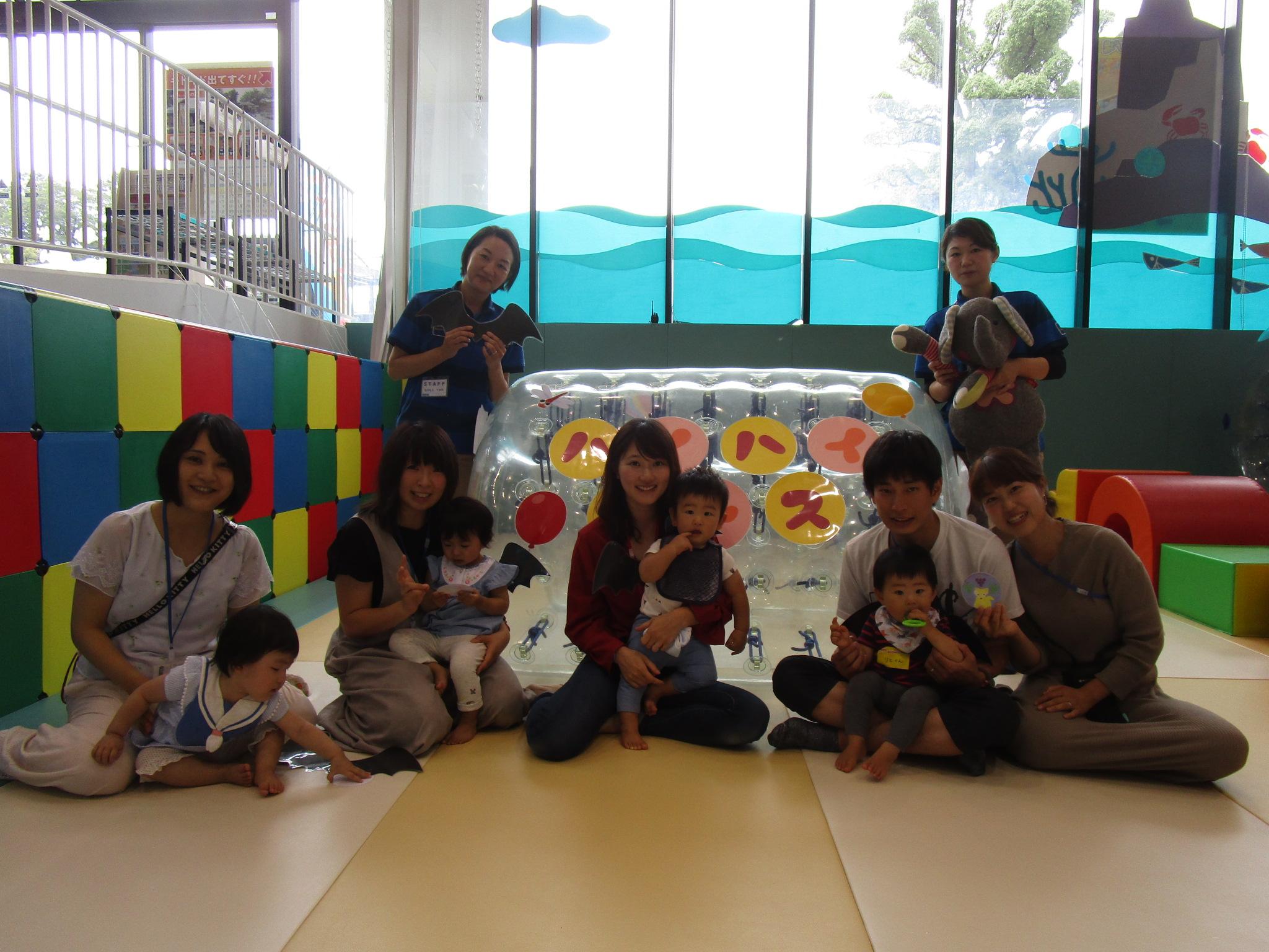 赤ちゃんイベント『ハイハイレース』/『楽器で演奏会♪』