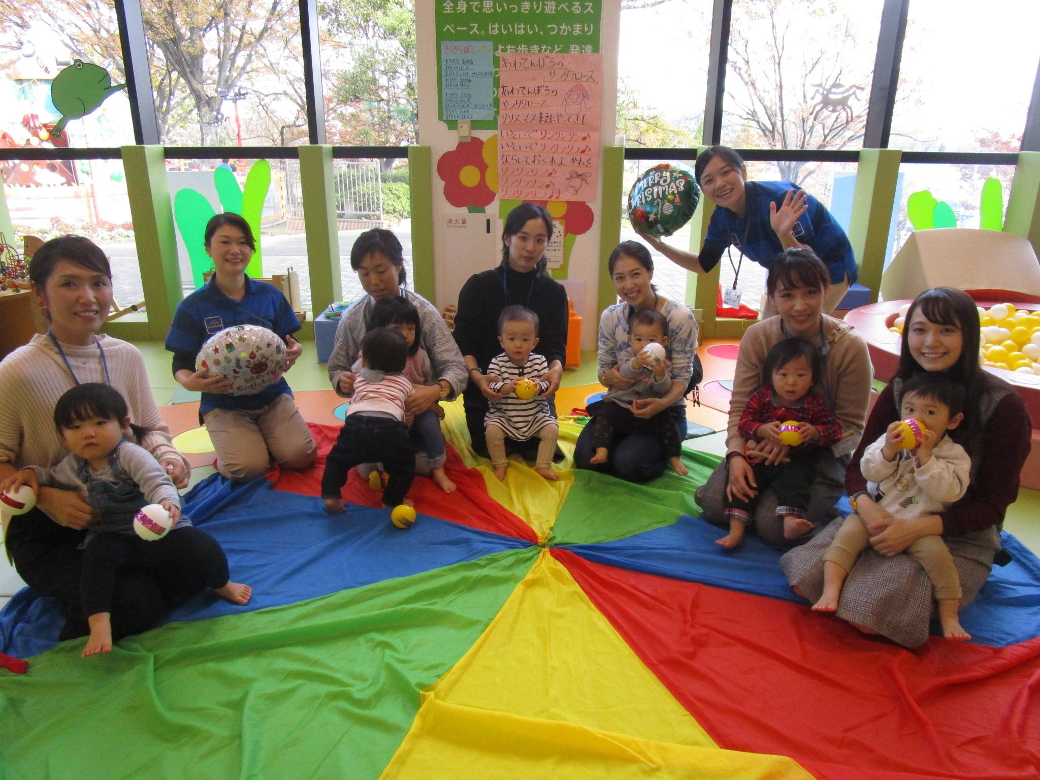 赤ちゃんイベント『パラバルーンであそぼう』 『1歳のお誕生日会』