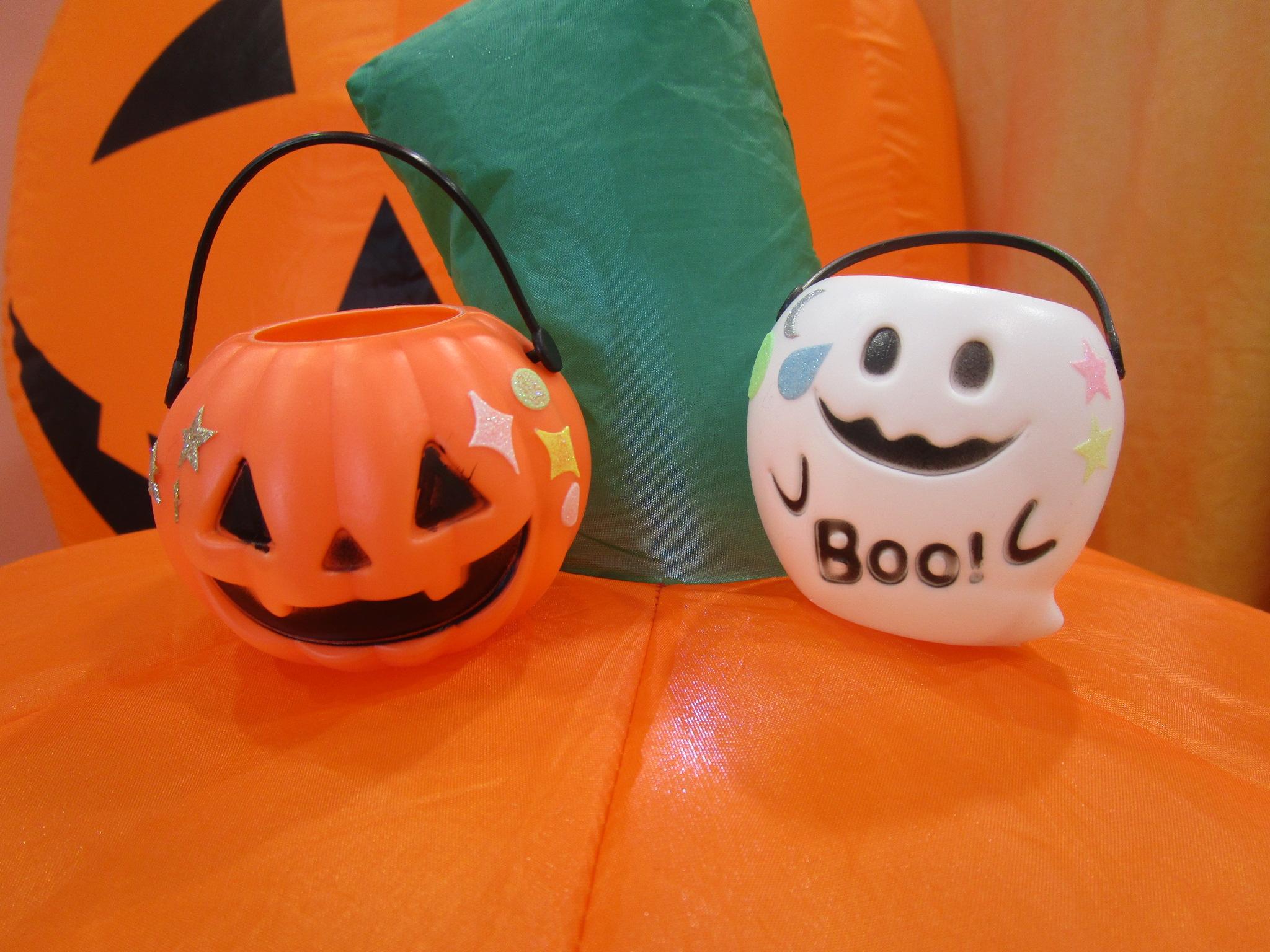 10/26~30の毎日15時 かぼちゃとおばけのランタンづくり