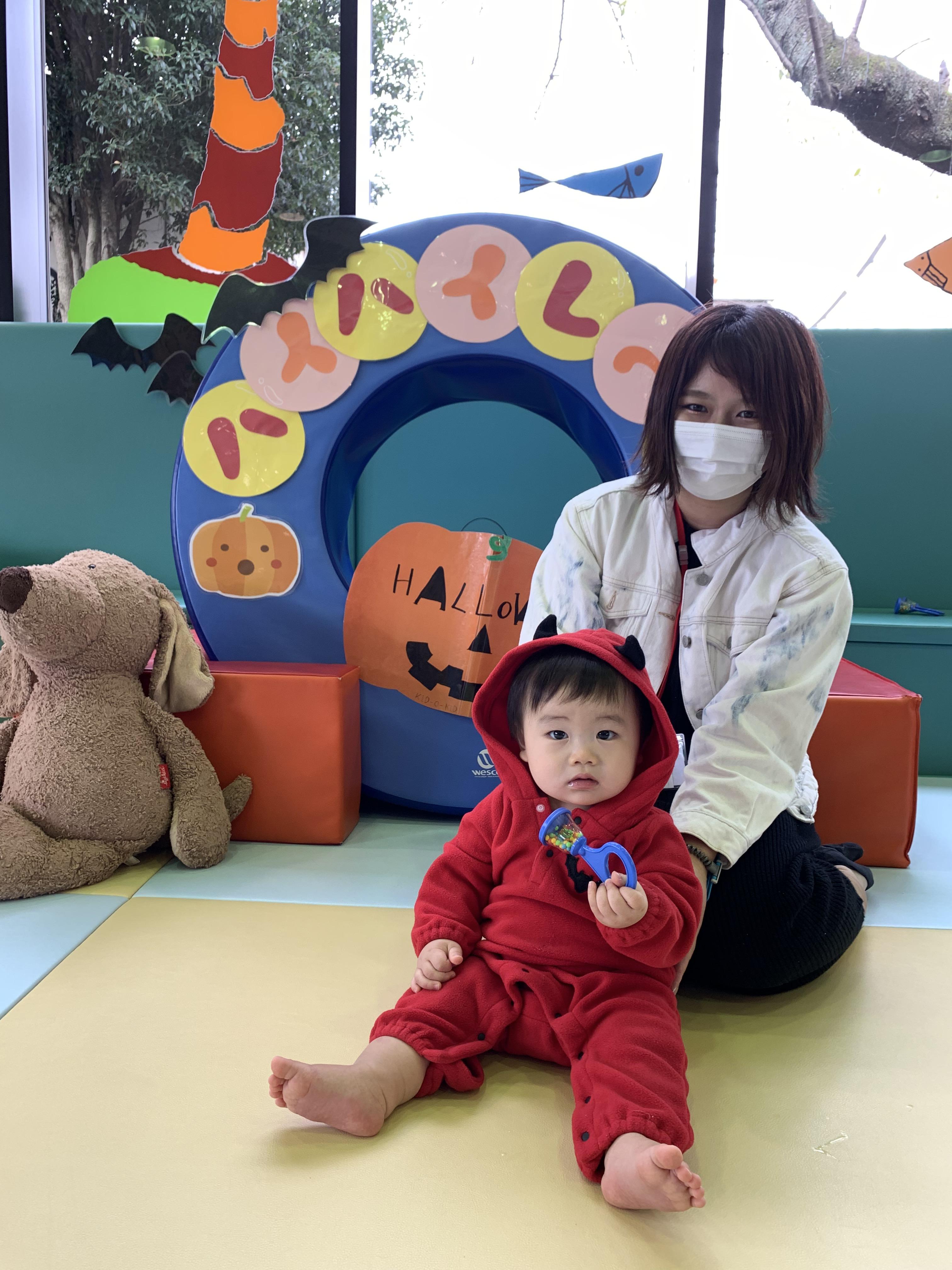 10/26㊋11時 仮装OK!赤ちゃんイベント『ハロウィンハイハイレース』