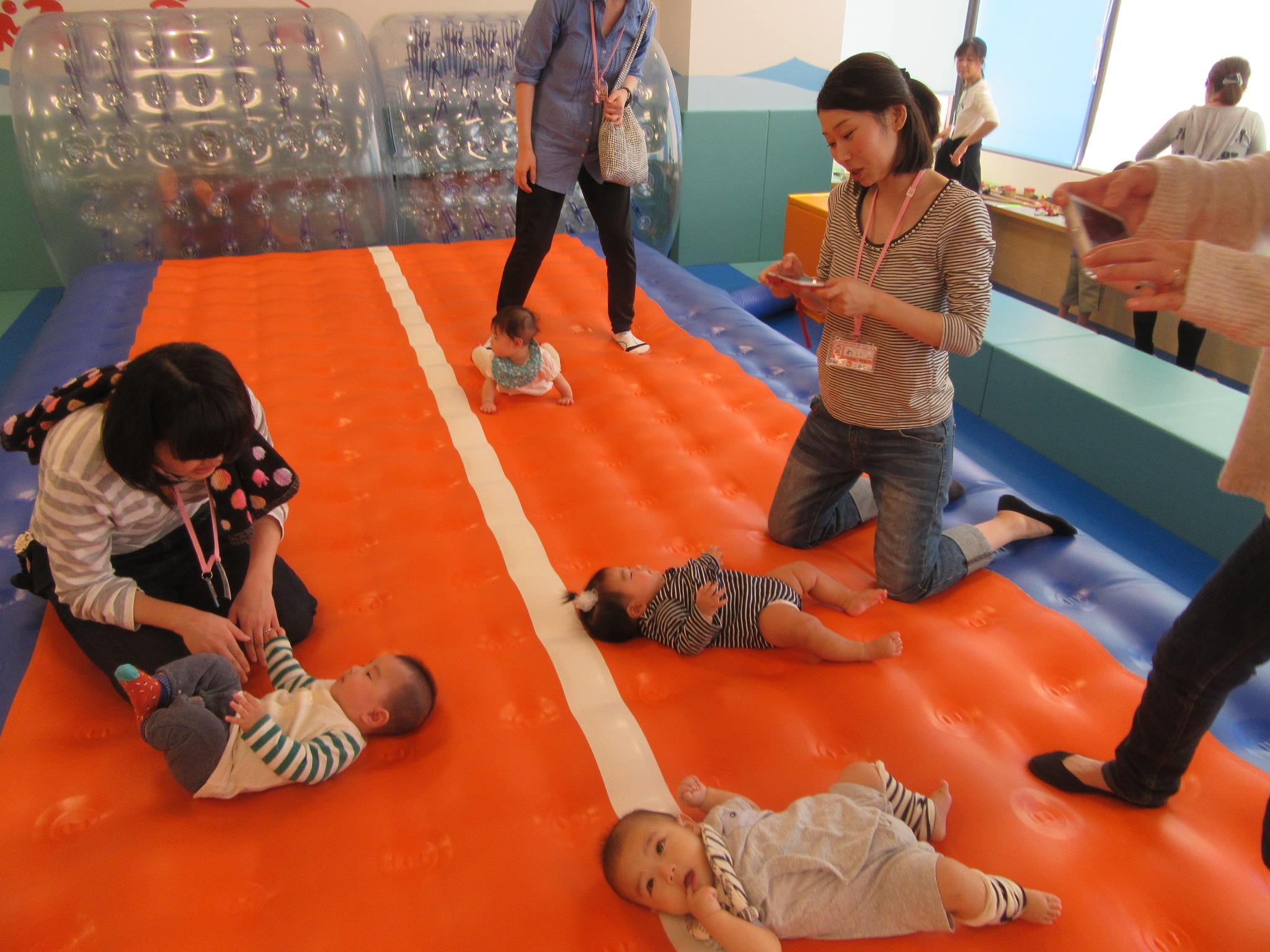 【6ヶ月未満の赤ちゃん向け】プレキドキド体験会