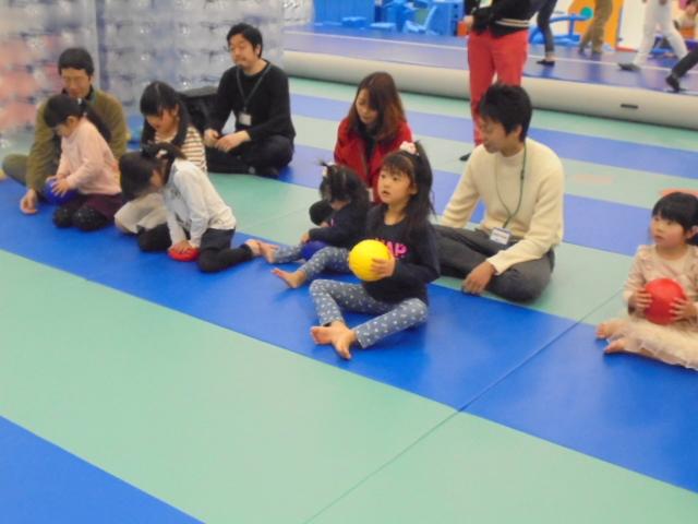 2月25日 パパといっしょに遊ぼう!イベント