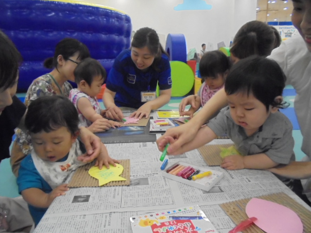 7月4日、6日赤ちゃんの日イベントご報告