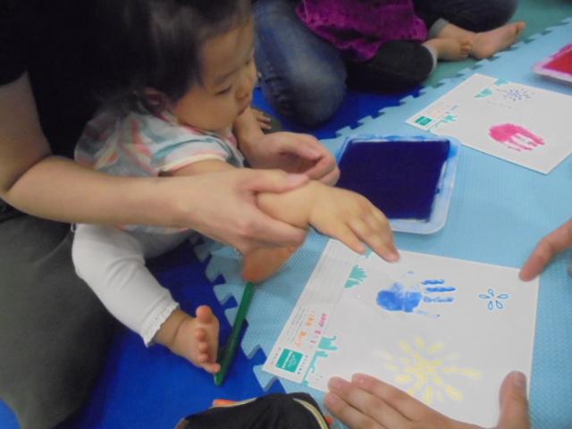 赤ちゃんの日イベント★手形
