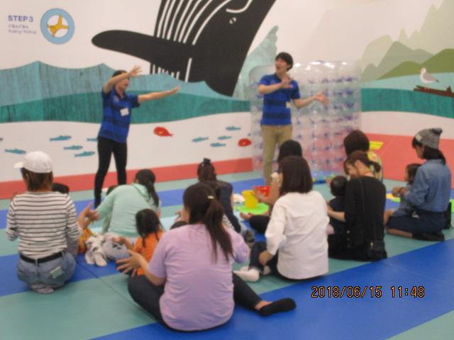 6月15日(金) 幼児イベント 手形で「てるてるぼうず」づくりイベントのご報告