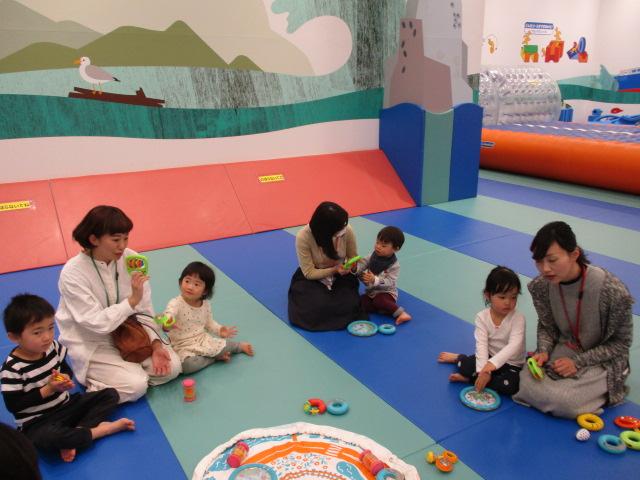 2月27日(水)幼児イベント・音あそびを行いました!