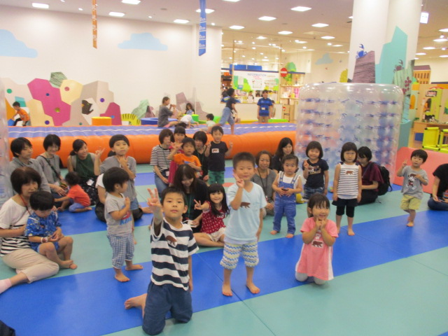 7月24日(水) キドキドPLAYFUL LEARNING「遊びながら発見!大きさ・いろ・かたち」イベントのご報告