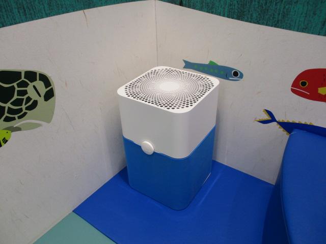 スウェーデンの空気清浄機「ブルーエア」を設置いたしました。
