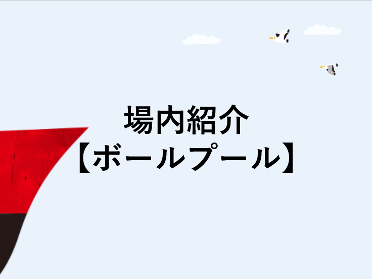 場内紹介【ボールプール】
