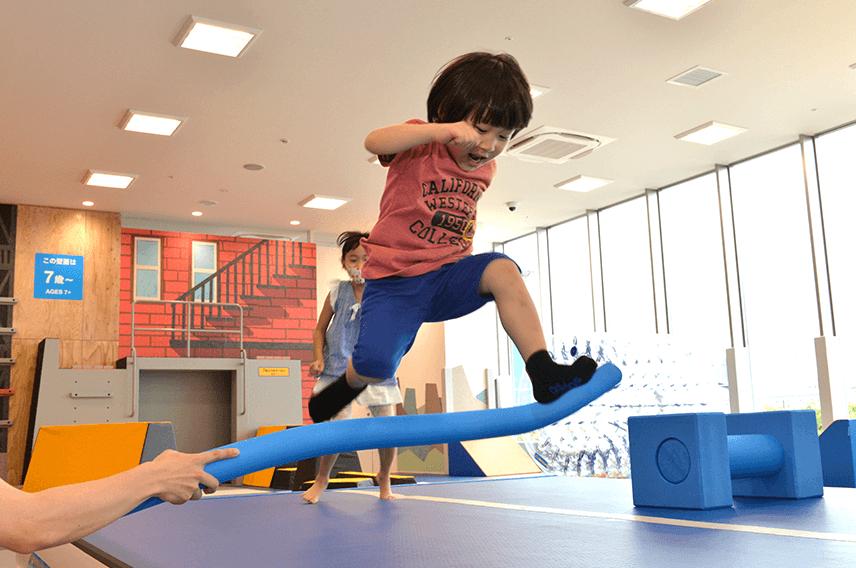 PLAYFULスポーツチャレンジ【ハードル走】